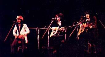 ガロの3人 左からボーカル、マーク、トミー