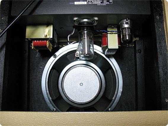 GVA Customのスピーカーと真空管