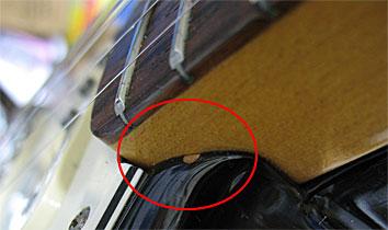 FENDER JAPAN ST62-70?塗装の厚さ