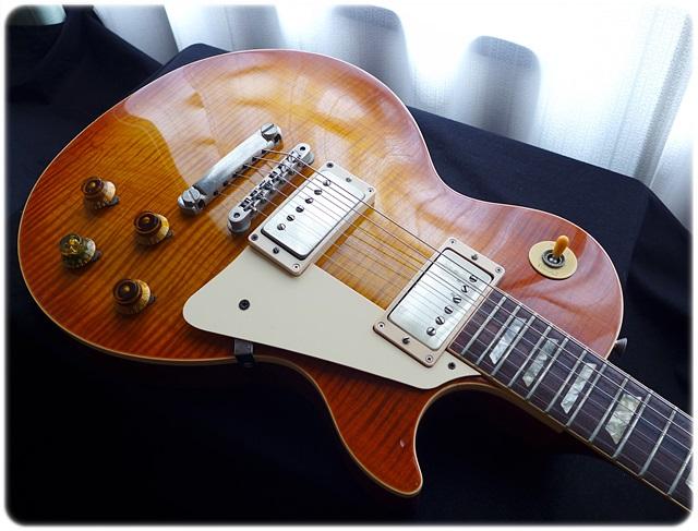 Gibson LesPaul Reissue とパワーアップギターパーツ