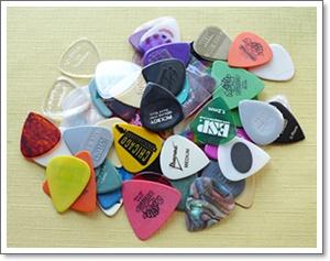 オススメのギター用ピック