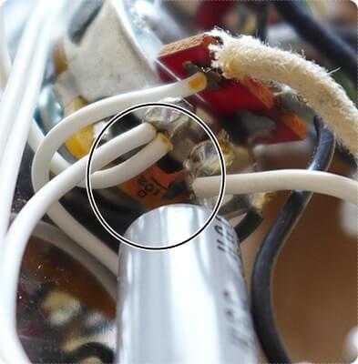 ターボスイッチに搭載されているハイパスコンデンサー