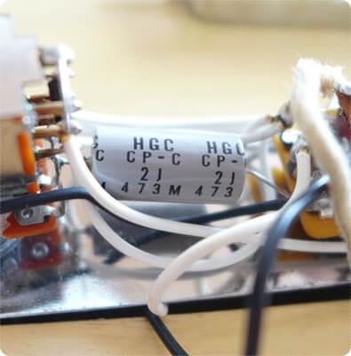 ターボスイッチに搭載されているオイルコンデンサー