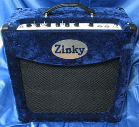 Zinky Blue Velvet