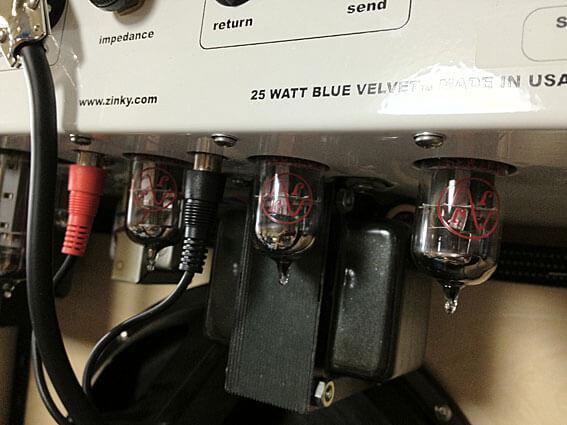Zinky Blue Velvet 25 /プリアンプ真空管(12AX7)