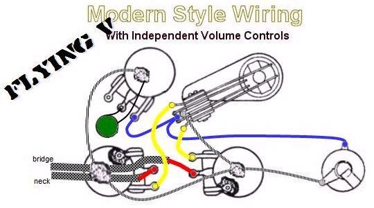 Flying V Modern Style Wiring 2