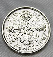 6ペンス・コイン