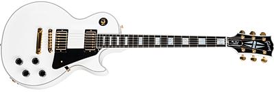 Les Paul Custom White