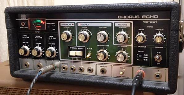 ランディー・ローズも愛用したRoland RE-301 Chorus Echo