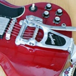 SG にBigsby B7を改造取り付け