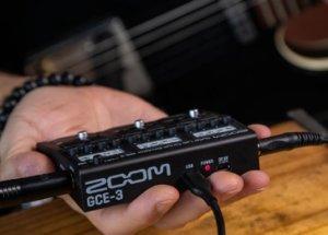 手のひらサイズの超コンパクトなギター/ベース用USBオーディオ・インターフェース Zoom GCE-3