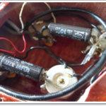 レスポールのポットとコンデンサ交換で色気のあるトーンをゲット!
