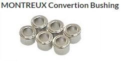 ロトマチックペグをクルーソンペグに交換する為のブッシング MONTREUX Convertion Bushing