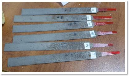 ナットやブリッジの溝切りにオススメのナットファイル