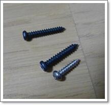 NS Micro Clip Free Tunerに付属のインチとミリサイズのビス
