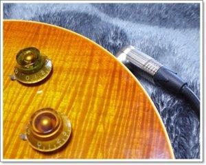 ギブソン系ギター(LesPaul)にはL型プラグが良い