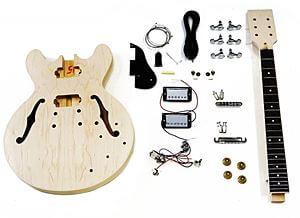 HOSCOギターキット ( セミアコタイプ )