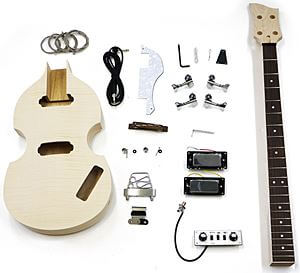 HOSCOギターキット ( バイオリンベースタイプ )