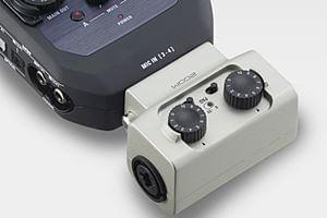 ZOOM独自のマイクカプセル交換システムにも対応したZOOM U-44