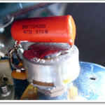 Orange Drop(473J 600V)オイルコンデンサー