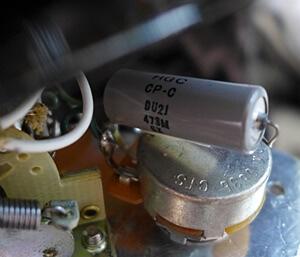 SONICのターボブレンダーに搭載されているコンデンサー