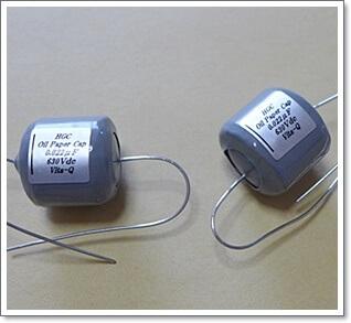 SG用にヒグチ電子/HGCのオイルコンデンサー0.022μFを取り付けてみた