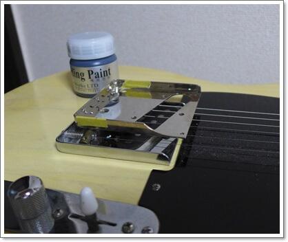 まずはノイズ処理(導電塗料/ドータイトの塗布)から行います。
