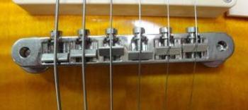 ヴィンテージ系モデルに採用されるABR-1ブリッジ