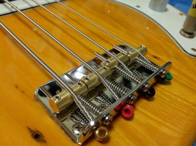 新しい弦を張りました