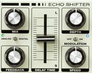 ES3 Echo Shifterのコントロールパネル