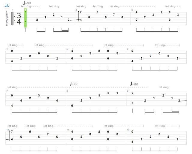 Andy Williams - Moon River Guitar Tab