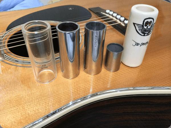 スライドギター(ボトルネック奏法)にはまる