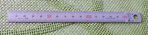15cm程度の直尺も持っていると便利です。