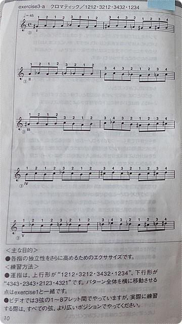 ギターが上手くなる魔法のエクササイズ~ギタリストのための演奏能力開発エクササイズ01