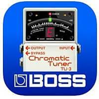 BOSSのチューナーアプリもおすすめです