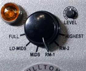 6種類のサウンドが楽しめるFULLTONE / RANGER