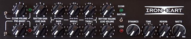 LANEY / IRT30-112のコントロール