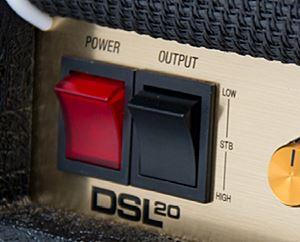 MARSHALL / DSL20の出力切り替えスイッチ