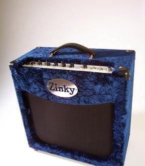 Zinky 25 watt Blue Velvet Guitar Amp