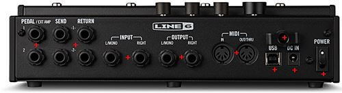 LINE 6 HX Effectsの入出力