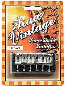 Raw Vintage / RVS Pure Steel Saddles