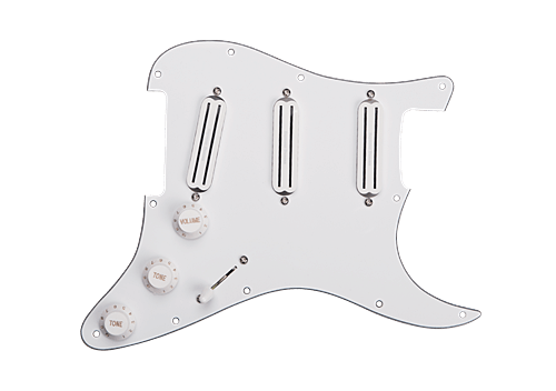 SEYMOUR DUNCAN Triple Rails Loaded Pickguard