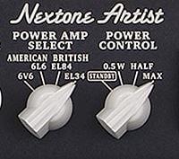 BOSS Nextone シリーズのパワーアンプセレクト/パワーコントロール
