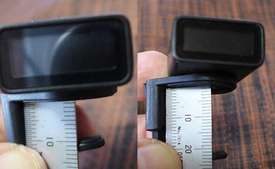 D'Addario NS Micro Headstock Tuner PW-CT-12の厚みは約10mmから最大20mmまでのものに取り付けることが出来ますます