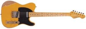 Vintage のエレキギター テレキャスタータイプ