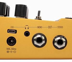 WALRUS AUDIO ACS1 Amp + Cab SimulatorはUSB端子とヘッドホン端子を搭載