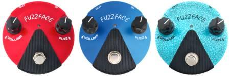 Fuzz Face Mini ジミ・ヘンドリックス・ファンなら初期に使用したゲルマニウムトランジスタ、後期に使用したシリコントランジスタ両方を揃えたい