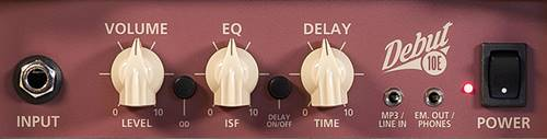 Blackstar Debut 10Eのコントロール