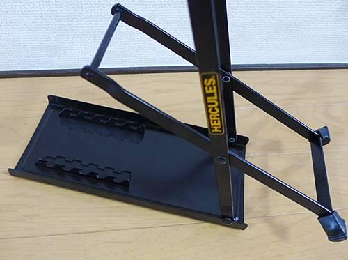 HERCULES FS100Bは5段階の高さ調整が可能です