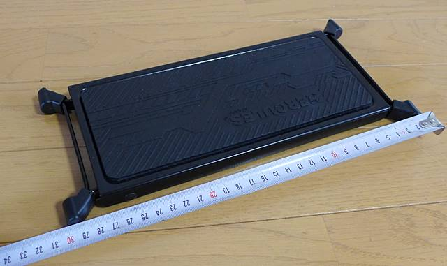 HERCULES FS100Bの全長は約30cm